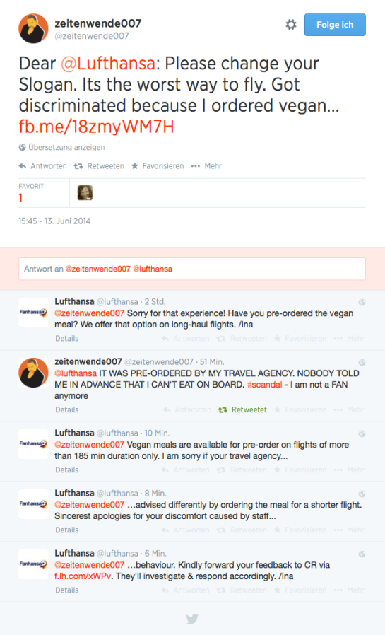 Lufthansa Twitter Replies 13052014