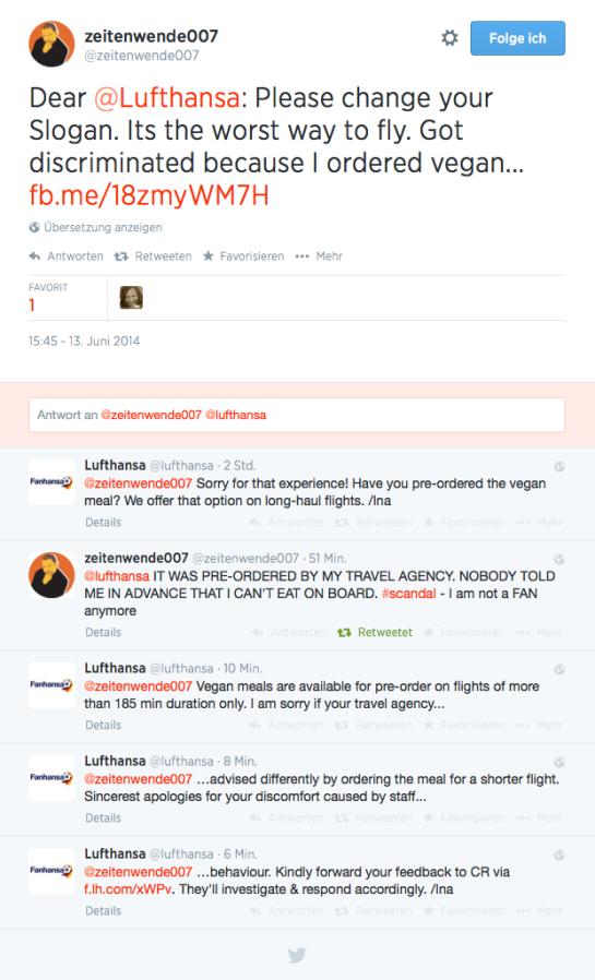 Lufthansa Twitter Replies 13052014