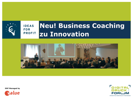 Value DDF Biz Coaching 2014