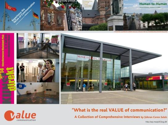 ValueTalk! — Kunst Direkt 2014.001