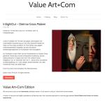 Value Art+Com Online Shop