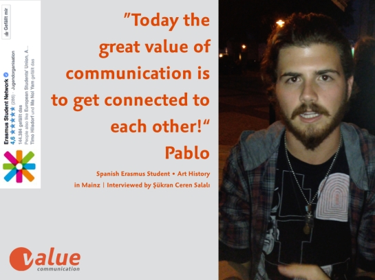 ValueTalk! —What is the real value of communication ERASMUS students.003
