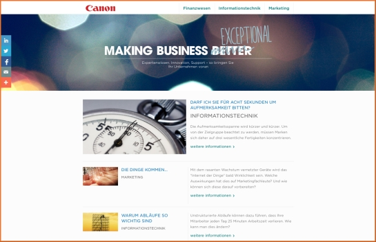 Canon Blog Deutsch
