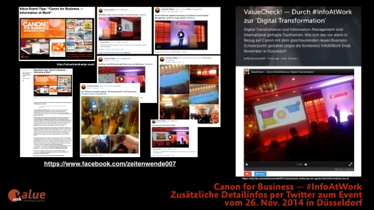 ValueCheck! — Canon #InfoAtWork 26112014