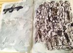 """Fee Fleck, Arbeitsbuch """"Drohne"""", 2015"""
