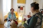 Künstlerinnen m Dialog (Gisela Rapp mit Valy)
