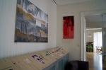Malerei von Valy trifft Textilkunst von Giseia Rapp