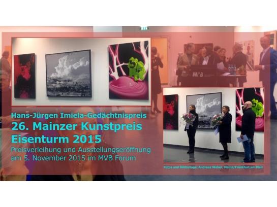 26. Mainzer Kunstpreis Eisenturm 2015.001