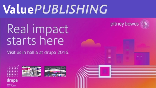 Value Publshing Pitney Powes Key Visuals drupa 2016.001