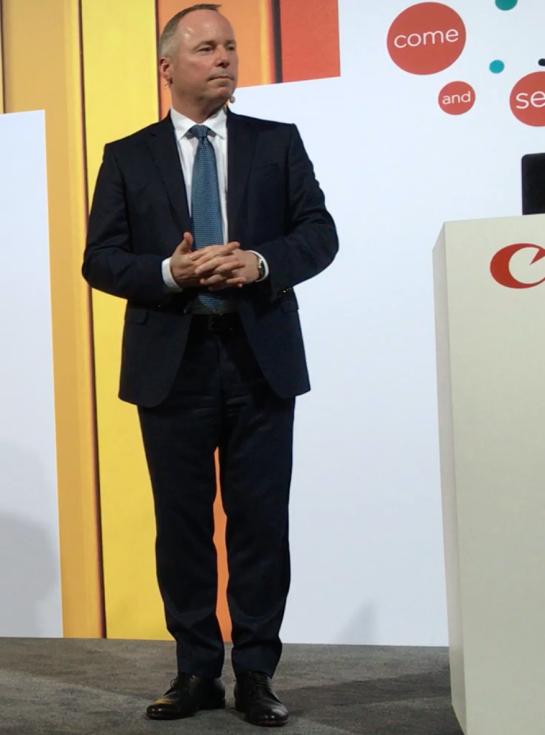 Peter Wolff, Canon Europe, PK drupa2016