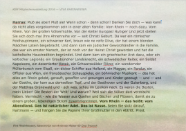 Zuckmayer Rezitiert von Doq Treznok 2