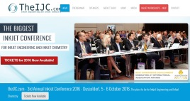 Registration inkjet conference 2016: theijc.com
